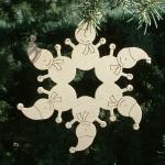 12 Zvijezda snjegovici na boru
