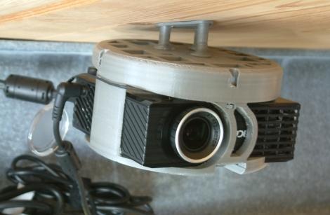 Projektor na stropu 1