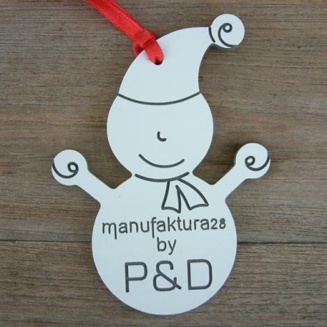Snjegović s logotipom