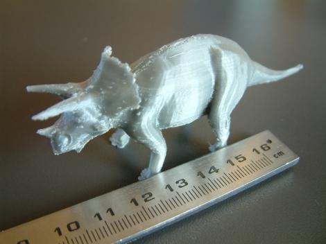 triceratops očišćeni